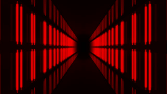 red infinity tunnel - stage performance space stock videos & royalty-free footage