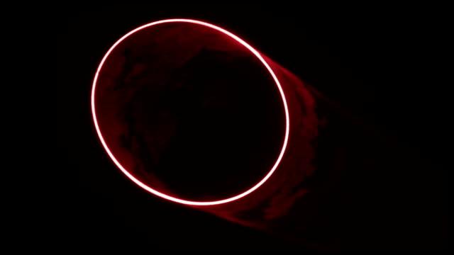 red laser circle - laser stock videos & royalty-free footage