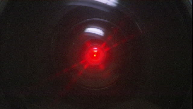 a red laser grows brighter. - laser stock videos & royalty-free footage