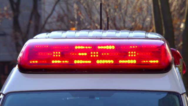 救急車の赤い光 - 救急車点の映像素材/bロール