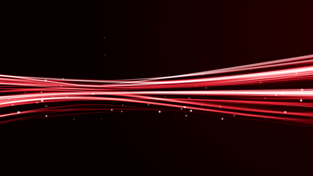 HD Red Light streaks abstract background animation (Loop)