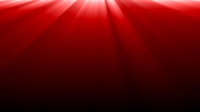 Luzes vermelhas de fundo.