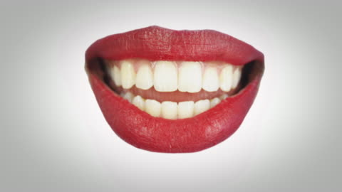 red lips talking - film composite stock videos & royalty-free footage