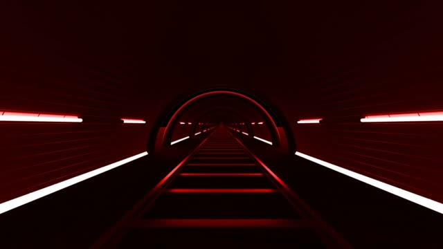 red looped background hallway - stage performance space stock videos & royalty-free footage