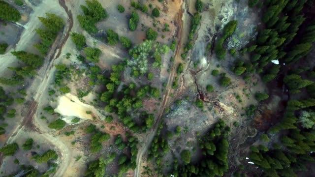 レッドマウンテンパス - ユアレイ市点の映像素材/bロール