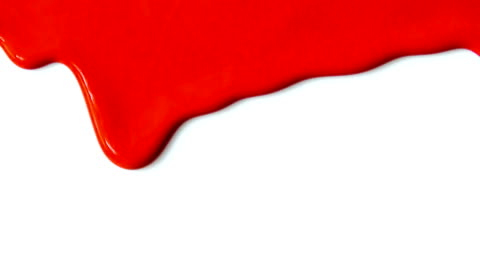 red paint dripping. - drop stock videos & royalty-free footage