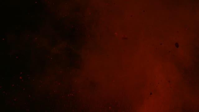 Red powder collision