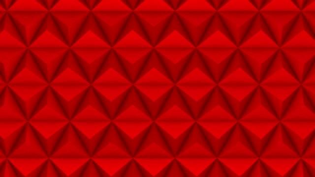 vidéos et rushes de prisme rouge - fond coloré