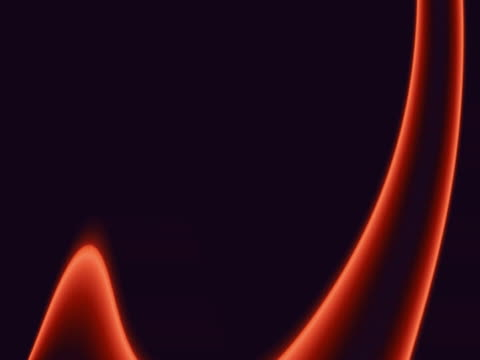 red psychedelic shapes flowing over black background - inarcare la schiena video stock e b–roll