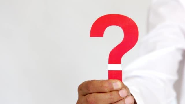 red question mark - question mark stock videos & royalty-free footage