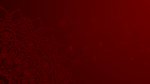 Red Ramadhan Background