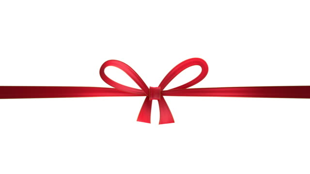 red ribbon - christmas gift stock videos & royalty-free footage