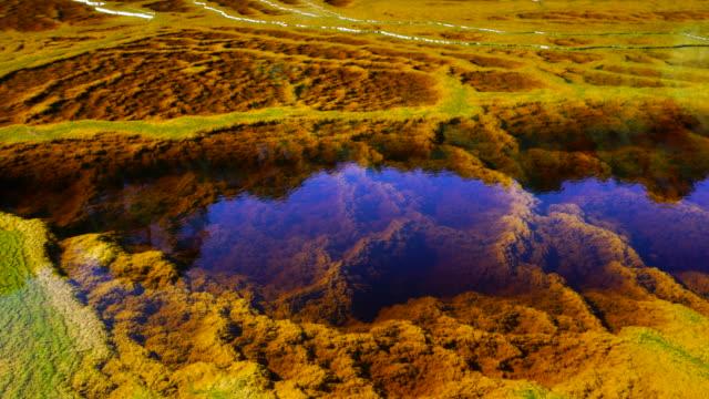 red river, sierra morena, gulf of cadiz, huelva, andalucia, spain, europe - fluss red river stock-videos und b-roll-filmmaterial