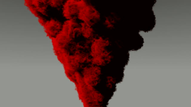red smoke cloud - matte image technique stock videos & royalty-free footage