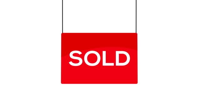 Rosso venduto segno