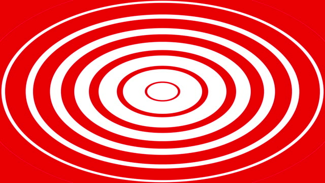 red spirals - concentric stock videos & royalty-free footage