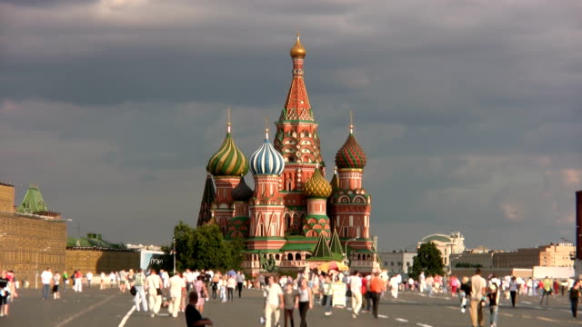 red square in moscow - red square stock videos and b-roll footage