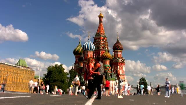 赤の広場モスクワ
