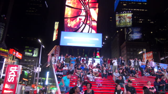 TKTS Red Steps, Times Square, New York City