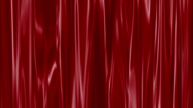 red wavy curtain background and velvet pattern - academy of motion picture arts and sciences stock videos & royalty-free footage