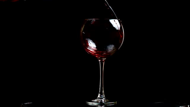 red wine glass - wine stock videos & royalty-free footage