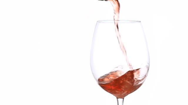red wine splashing -  slow motion - wine glass stock videos & royalty-free footage