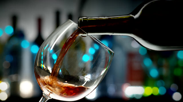 red wine-holidays - cocktail stock videos & royalty-free footage