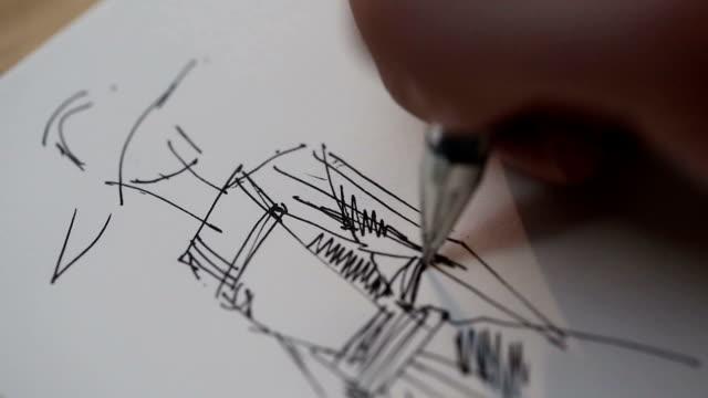 패션디자이너의 스케치