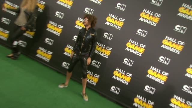 Redfoo at Cartoon Network Hosts Fourth Annual Hall Of Game Awards at Barker Hangar on February 15 2014 in Santa Monica California