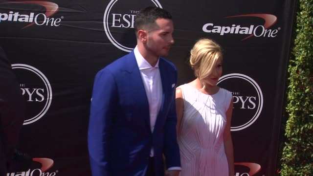 jj redick at the 2015 espys at microsoft theater on july 15 2015 in los angeles california - microsoft theater los angeles stock videos and b-roll footage