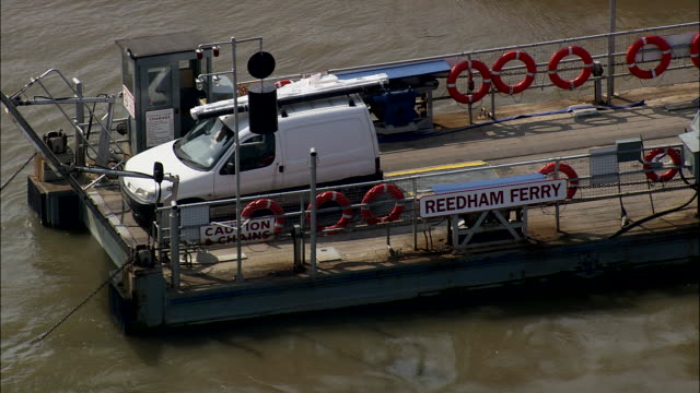 reedham ferry and broadland scene - sequential series stock videos & royalty-free footage
