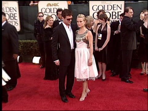 Reese Witherspoon at the 2006 Golden Globe Awards at the Beverly Hilton in Beverly Hills California on January 16 2006