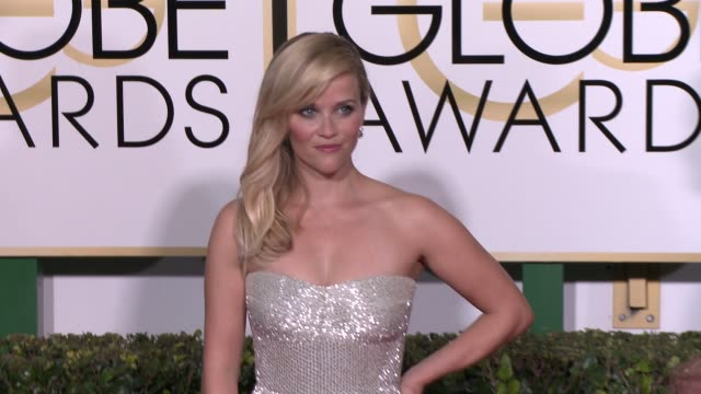 Reese Witherspoon at the 72nd Annual Golden Globe Awards Arrivals at The Beverly Hilton Hotel on January 11 2015 in Beverly Hills California