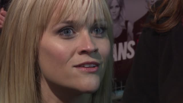 reese witherspoon at this means war uk premiere at odeon kensington on january 30, 2012 in london, england - war stock-videos und b-roll-filmmaterial