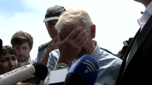 reeva steenkamps brother said he wanted to remember all the positive things about his sister at her funeral ceremony held in port elizabeth as the... - port said stock videos & royalty-free footage