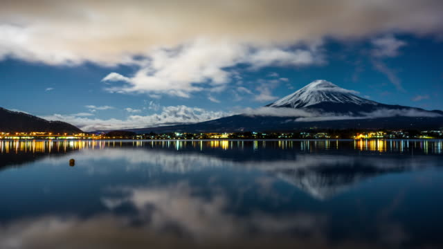 Refection lake of Mt.Fuji