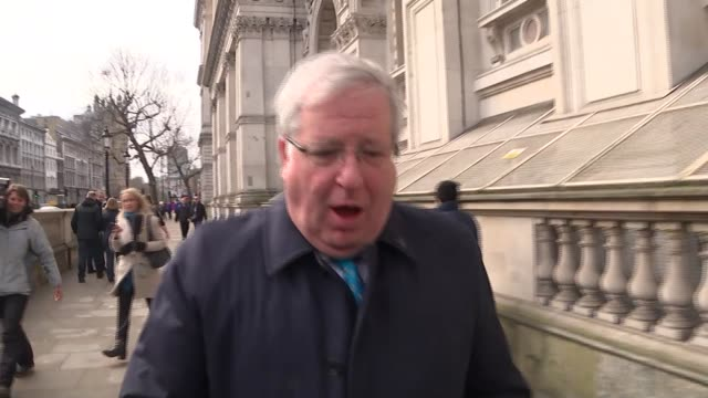 cabinet arrivals patrick mcloughlin mp arriving and saying he thinks it is a very good deal sot / anna soubry mp arriving and saying the prime... - patrick mcloughlin stock videos and b-roll footage