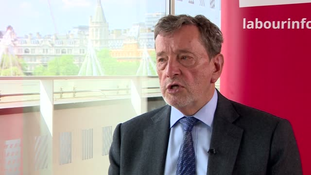 referendum campaign: david blunkett interview; england: london: int david blunkett interview sot - staying in the european union would be better for... - david blunkett stock videos & royalty-free footage