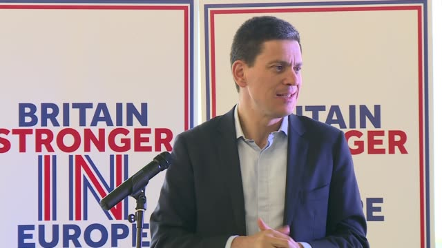 david miliband speech david miliband speech sot - david miliband stock videos & royalty-free footage