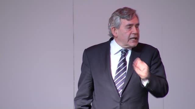 Gordon Brown Fabian Society speech ENGLAND London THROUGHOUT*** Gordon Brown speech SOT congrats to Sadiq Khan criticizes Zac Goldmsith Britain is...