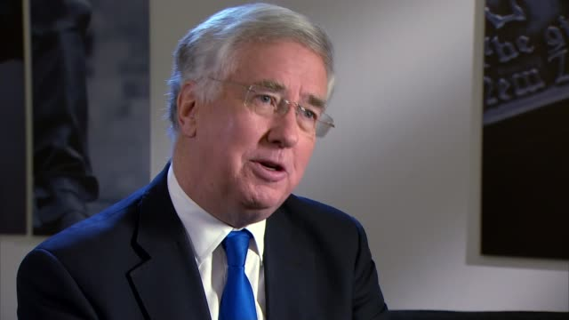 john longworth comments on his resignation int michael fallon mp interview sot the leave campaign are coming up with these conspiracy theories... - アルファベットのb点の映像素材/bロール