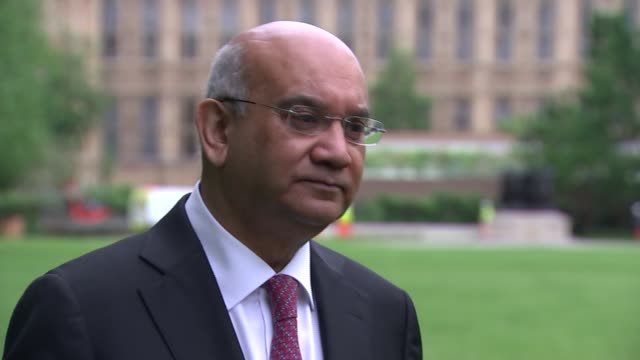 Keith Vaz interview on foreign criminals in UK prisons ENGLAND London Westminster EXT Keith Vaz MP interview SOT On numbers of foreign nationals in...