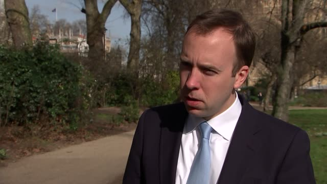 matthew hancock interview england london ext matthew hancock mp interview sot on what the process would be for getting out of the eu there would be a... - 改革点の映像素材/bロール