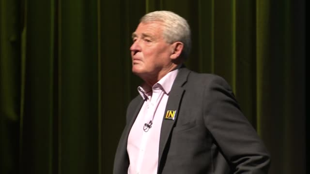 remain lib dem leaders qa england london picadilly int past and presend lib dem leaders onto stage lord ashdown menzies campbell nick clegg mp tim... - paddy ashdown stock-videos und b-roll-filmmaterial