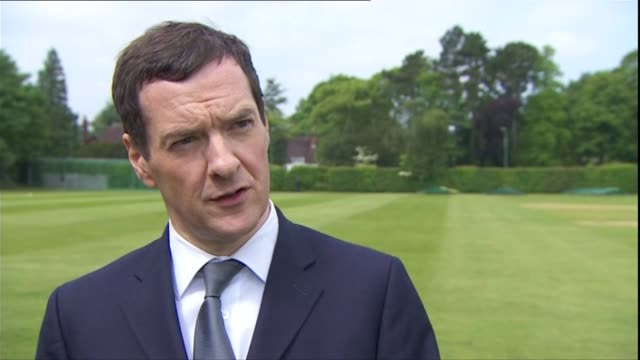 treasury select committee attacks both sides claims west midlands solihull int various of george osborne mp sat at table talking to pensioners george... - tee off stock videos & royalty-free footage