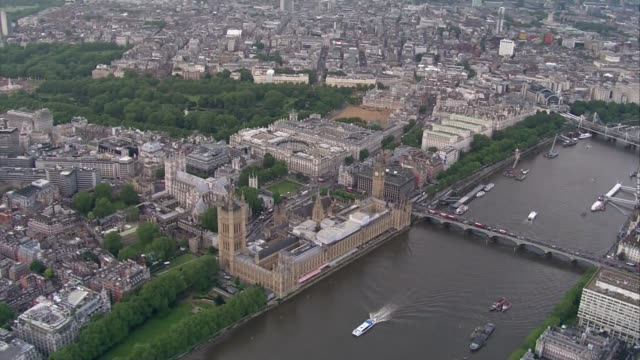 last day of campaign england london houses of parliament and big ben clock tower next to river thames - last day stock videos and b-roll footage