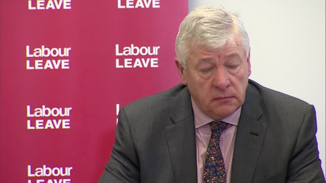 stockvideo's en b-roll-footage met launch of 'labour leave' campaign: cutaways; more cutaways - referendum over europese unie 2016