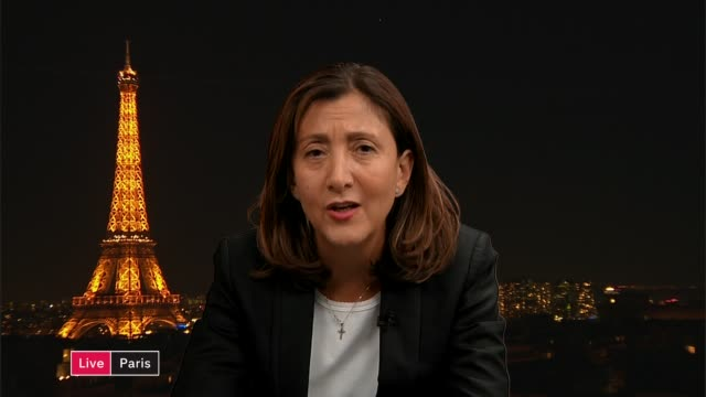 referendum on ratifying deal with farc is narrowly defeated england london gir int ingrid betancourt in paris live interview sot - グジャラート州点の映像素材/bロール