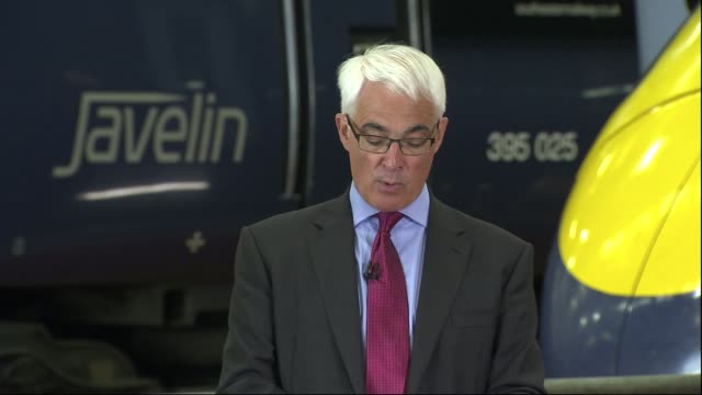 remain: george osborne and alistair darling speech in ashford; alistair darling speech sot - 2016 european union referendum stock videos & royalty-free footage