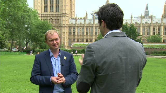 voter registration deadline extended after government website crashes Westminster EXT Tim Farron MP interview SOT overwhelming majority of young...